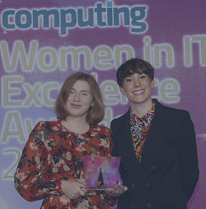 Godel's Yuliya Maksimchyk wins Software Engineer of the Year at Computing Women in IT Excellence Awards