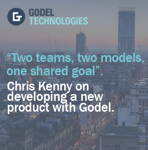"""Two teams, two models, one shared goal"". Chris Kenny of Booking.com on creating a new product with Godel."